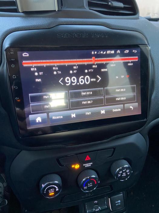 Navigatie Jeep Renegade ( 2015 - 2021 ) , Android , Display 9 inch , 2GB RAM +32 GB ROM , Internet , 4G , Aplicatii , Waze , Wi Fi , Usb , Bluetooth , Mirrorlink 3