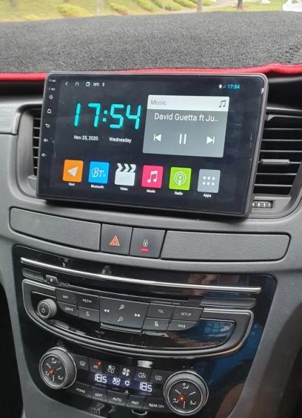 Navigatie Peugeot 508 ( 2010 - 2018 ) , Android , Display 9 inch , 2GB RAM +32 GB ROM , Internet , 4G , Aplicatii , Waze , Wi Fi , Usb , Bluetooth , Mirrorlink 2