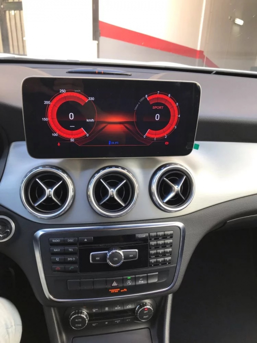 Navigatie Mercedes A Class W176 ( 2013 - 2018 ) , 8 GB RAM + 64 GB ROM , Slot Sim 4G LTE , Android , Procesor Octa Core , Internet , Aplicatii , Waze , Wi Fi , Usb , Bluetooth 4