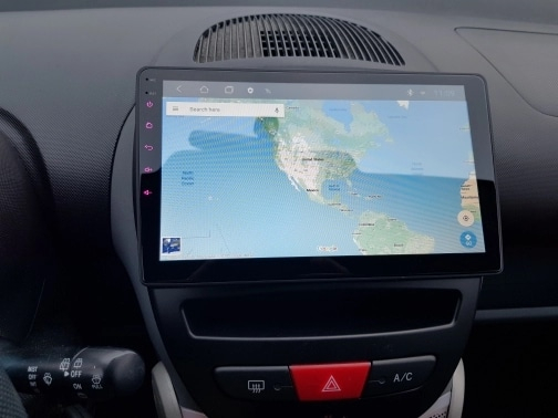 Navigatie Peugeot 107 ( 2005 - 2015 ) , Android , Display 10 inch , 2GB RAM +32 GB ROM , Internet , 4G , Aplicatii , Waze , Wi Fi , Usb , Bluetooth , Mirrorlink 3