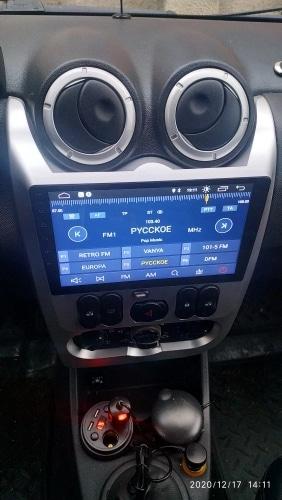 Navigatie Dacia Logan ( 2009 - 2016 ) , 4 GB RAM + 64 GB ROM , Slot Sim 4G pentru Internet , Carplay , Android , Aplicatii , Usb , Wi Fi , Bluetooth [2]