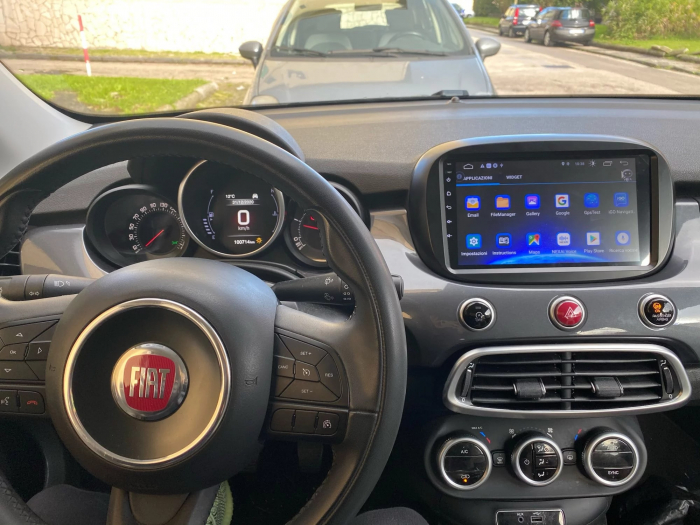 Navigatie Fiat 500X ( 2014 - 2019 ) , Android , Display 9 inch , 2GB RAM +32 GB ROM , Internet , 4G , Aplicatii , Waze , Wi Fi , Usb , Bluetooth , Mirrorlink 3