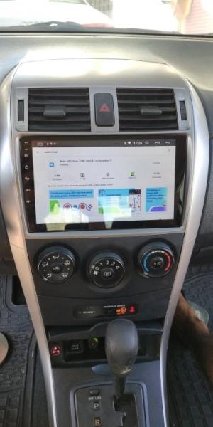 Navigatie Toyota Corolla ( 2006 - 2013 ) , Android , Display 9 inch , 2GB RAM +32 GB ROM , Internet , 4G , Aplicatii , Waze , Wi Fi , Usb , Bluetooth , Mirrorlink 2