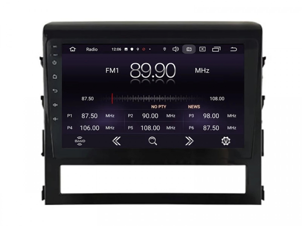 Navigatie Toyota Land Cruiser ( 2015 + ) , Android , Display 9 inch , 2GB RAM +32 GB ROM , Internet , 4G , Aplicatii , Waze , Wi Fi , Usb , Bluetooth , Mirrorlink 2
