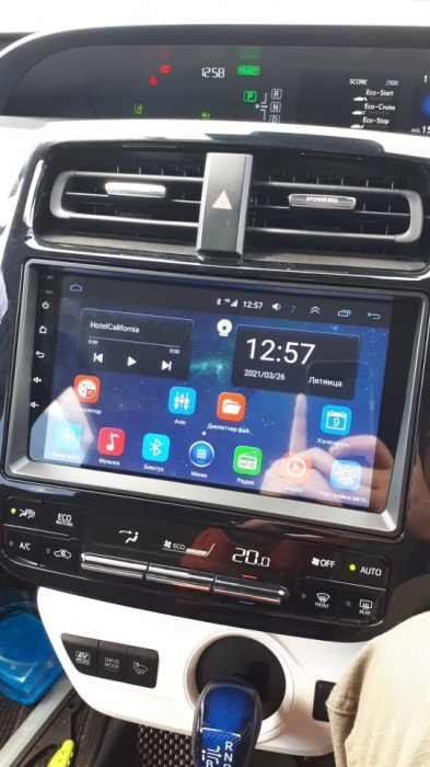 Navigatie Toyota Prius ( 2015 + ) , Android , Display 9 inch , 2GB RAM +32 GB ROM , Internet , 4G , Aplicatii , Waze , Wi Fi , Usb , Bluetooth , Mirrorlink 1