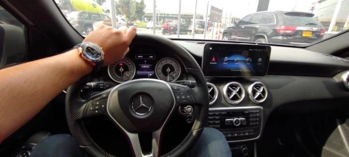 Navigatie Mercedes GLA X156 ( 2014 - 2018 ) , 8 GB RAM + 64 GB ROM , Slot Sim 4G LTE , Android , Procesor Octa Core , Internet , Aplicatii , Waze , Wi Fi , Usb , Bluetooth [7]