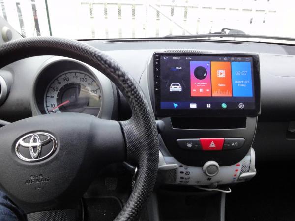 Navigatie Citroen C1 ( 2005 - 2015 ) , Android , Display 10 inch , 2GB RAM +32 GB ROM , Internet , 4G , Aplicatii , Waze , Wi Fi , Usb , Bluetooth , Mirrorlink 5