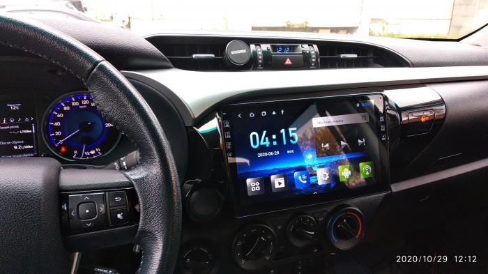 Navigatie Toyota Hilux ( 2015 - 2020 ) , Android , Display 9 inch , 2GB RAM +32 GB ROM , Internet , 4G , Aplicatii , Waze , Wi Fi , Usb , Bluetooth , Mirrorlink 4