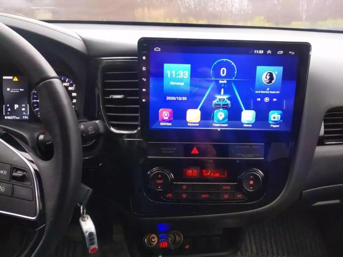 Navigatie Mitsubishi Outlander 3 ( 2013 - 2018 ) , Android , Display 9 inch , 2GB RAM +32 GB ROM , Internet , 4G , Aplicatii , Waze , Wi Fi , Usb , Bluetooth , Mirrorlink 4