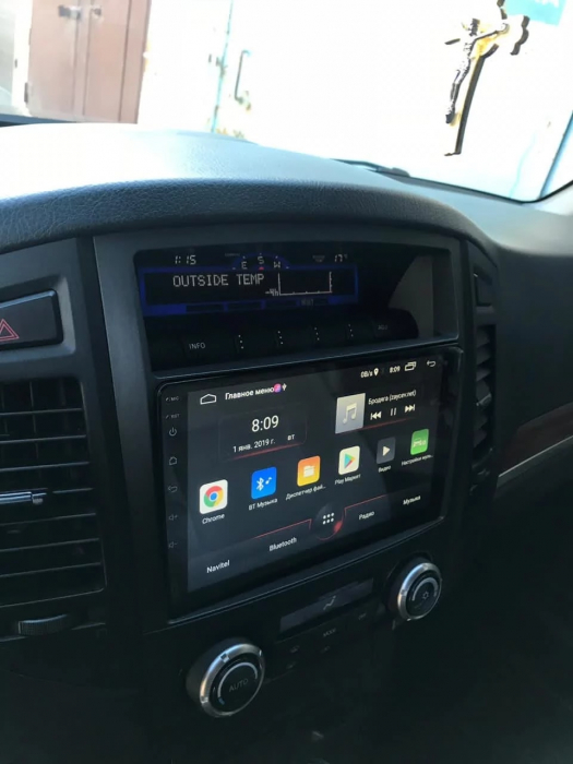 Navigatie Mitsubishi Pajero ( 2006 - 2018 ) , Android , Display 9 inch , 2GB RAM +32 GB ROM , Internet , 4G , Aplicatii , Waze , Wi Fi , Usb , Bluetooth , Mirrorlink 3