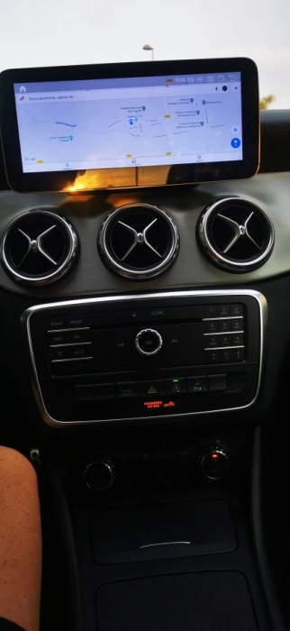 Navigatie Mercedes A Class W176 ( 2013 - 2018 ) , 8 GB RAM + 64 GB ROM , Slot Sim 4G LTE , Android , Procesor Octa Core , Internet , Aplicatii , Waze , Wi Fi , Usb , Bluetooth 3
