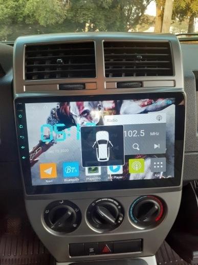 Navigatie Jeep Compass ( 2006 - 2010 ) , Android , Display 9 inch , 2GB RAM +32 GB ROM , Internet , 4G , Aplicatii , Waze , Wi Fi , Usb , Bluetooth , Mirrorlink 4