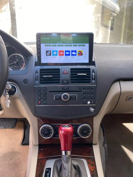 Navigatie Mercedes C Class W204 ( 2006 - 2012 ) , Android , Display 9 inch , 2GB RAM +32 GB ROM , Internet , 4G , Aplicatii , Waze , Wi Fi , Usb , Bluetooth , Mirrorlink 5