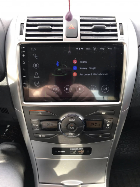 Navigatie Toyota Corolla ( 2006 - 2013 ) , Android , Display 9 inch , 2GB RAM +32 GB ROM , Internet , 4G , Aplicatii , Waze , Wi Fi , Usb , Bluetooth , Mirrorlink 3