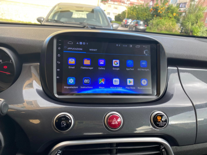 Navigatie Fiat 500X ( 2014 - 2019 ) , Android , Display 9 inch , 2GB RAM +32 GB ROM , Internet , 4G , Aplicatii , Waze , Wi Fi , Usb , Bluetooth , Mirrorlink 5