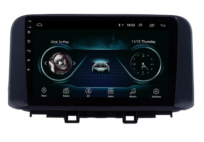 Navigatie Hyundai Kona ( 2018 + ) , Android , Display 9 inch , 2 GB RAM si 32 GB ROM , Internet , 4G , Aplicatii , Waze , Wi Fi , Usb , Bluetooth , Mirrorlink [2]