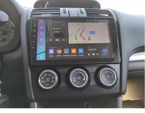 Navigatie Subaru Forester ( 2012 - 2019 ) , Android , Display 9 inch , 2 GB RAM +32 GB ROM , Internet , 4G , Aplicatii , Waze , Wi Fi , Usb , Bluetooth , Mirrorlink [2]