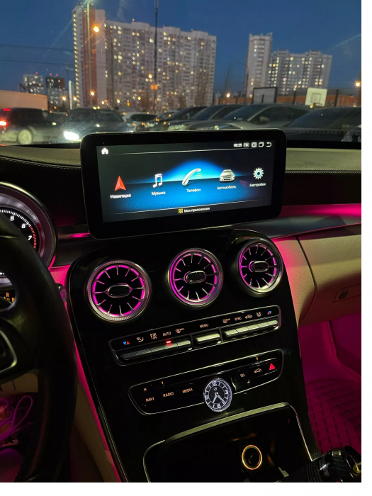 "Navigatie Mercedes GLC X253 ( 2015 - 2018 ) , 4 GB RAM + 64 GB ROM , Slot Sim 4G , Android , Display 10.25 "" rezolutie 1920*720 , Internet , Wi Fi , Usb , Bluetooth [1]"