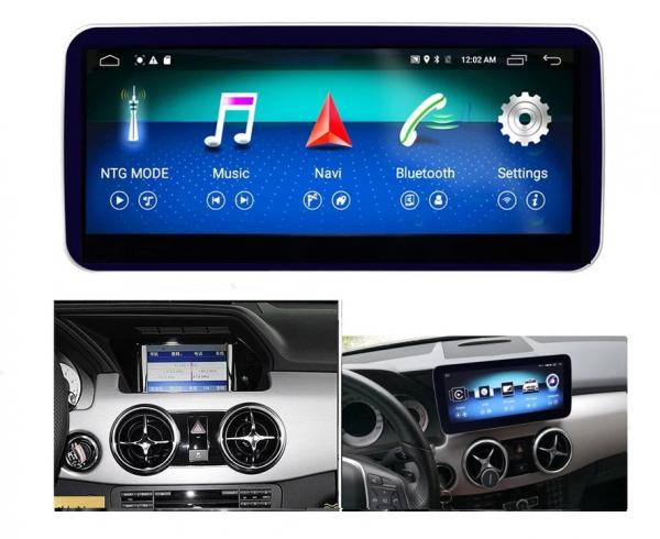 "Navigatie Mercedes GLK X204 ( 2008 - 2012) , Android , NTG 4.0 , 4GB RAM + 64 GB ROM , Slot Sim 4G LTE , Display 10.25 "" rez 1920*720 , Procesor Octa Core , Internet , Aplicatii , Waze , Wi Fi , Usb 4"