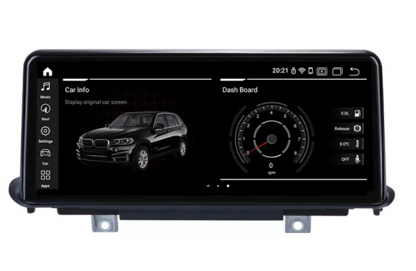 Navigatie BMW X5 F15 ( 2013 - 2017 ) , NBT , Android , 4 GB RAM + 64 GB ROM , Internet , 4G , Aplicatii , Waze , Wi Fi , Usb , Bluetooth , Mirrorlink 0
