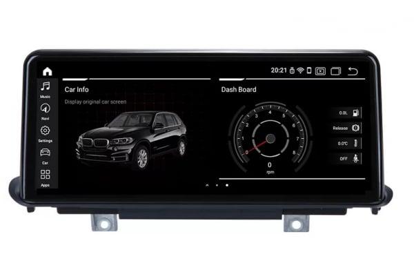 Navigatie BMW X5 F15 ( 2013 - 2017 ) , NBT , Android , 4 GB RAM + 64 GB ROM , Internet , 4G , Aplicatii , Waze , Wi Fi , Usb , Bluetooth , Mirrorlink 3