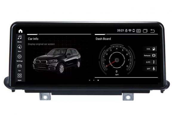 Navigatie BMW X6 F16 ( 2013 - 2017 ) , NBT , Android , 4 GB RAM + 64 GB ROM , Internet , 4G , Aplicatii , Waze , Wi Fi , Usb , Bluetooth , Mirrorlink 0