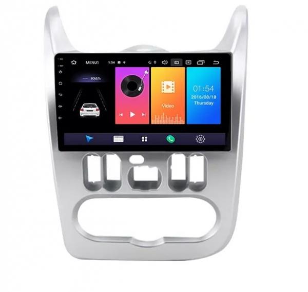 Navigatie Dacia Logan ( 2009 - 2016 ) , Android , Display 9 inch , 2GB RAM +32 GB ROM , Internet , 4G , Aplicatii , Waze , Wi Fi , Usb , Bluetooth , Mirrorlink [0]