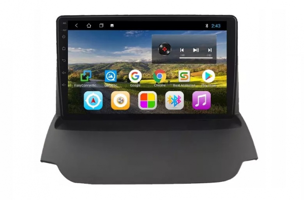 Navigatie Ford Ecosport ( 2013 - 2017 ) , Android , Display 9 inch , 2GB RAM +32 GB ROM , Internet , 4G , Aplicatii , Waze , Wi Fi , Usb , Bluetooth , Mirrorlink 4