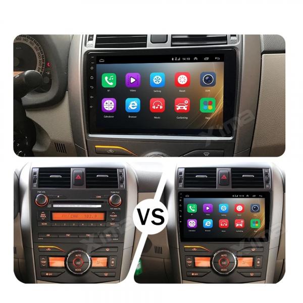 Navigatie Toyota Corolla ( 2006 - 2013 ) , Android , Display 9 inch , 2GB RAM +32 GB ROM , Internet , 4G , Aplicatii , Waze , Wi Fi , Usb , Bluetooth , Mirrorlink 1