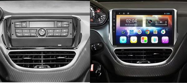 Navigatie Peugeot 208 / 2008 ( 2012 - 2020 ) , Android , Display 10 inch , 2GB RAM +32 GB ROM , Internet , 4G , Aplicatii , Waze , Wi Fi , Usb , Bluetooth , Mirrorlink 2