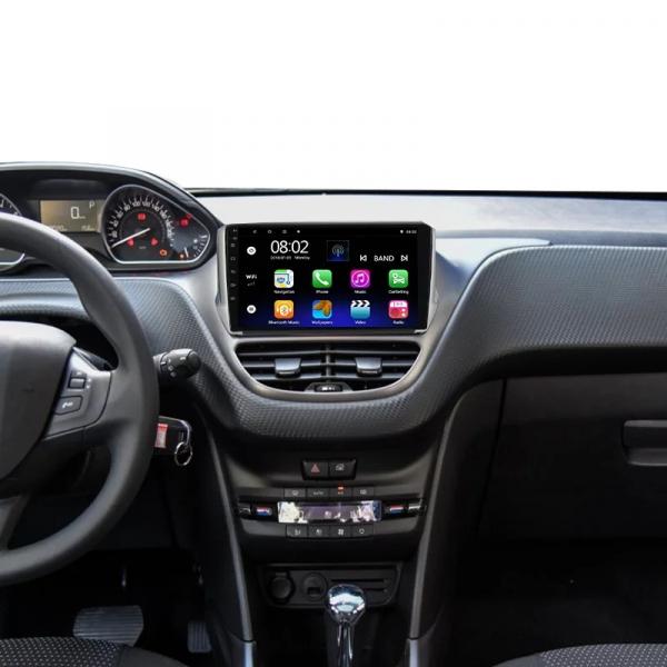 Navigatie Peugeot 208 / 2008 ( 2012 - 2020 ) , Android , Display 10 inch , 2GB RAM +32 GB ROM , Internet , 4G , Aplicatii , Waze , Wi Fi , Usb , Bluetooth , Mirrorlink 4