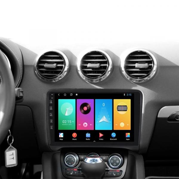 Navigatie Audi TT ( 2006 - 2012 ) , Android , Display 9 inch , 2GB RAM +32 GB ROM , Internet , 4G , Aplicatii , Waze , Wi Fi , Usb , Bluetooth , Mirrorlink 1