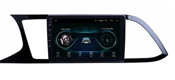 Navigatie Seat Leon 3 ( 2014 - 2020 ) , Android , Display 9 inch , 2GB RAM +32 GB ROM , Internet , 4G , Aplicatii , Waze , Wi Fi , Usb , Bluetooth , Mirrorlink 3
