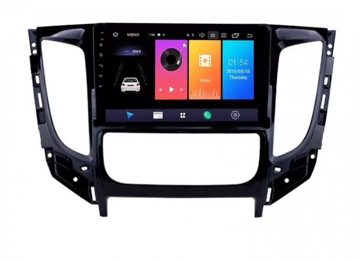Navigatie Mitsubishi L200 ( 2014 - 2020 ) , Android , Display 9 inch , 2GB RAM +32 GB ROM , Internet , 4G , Aplicatii , Waze , Wi Fi , Usb , Bluetooth , Mirrorlink [2]