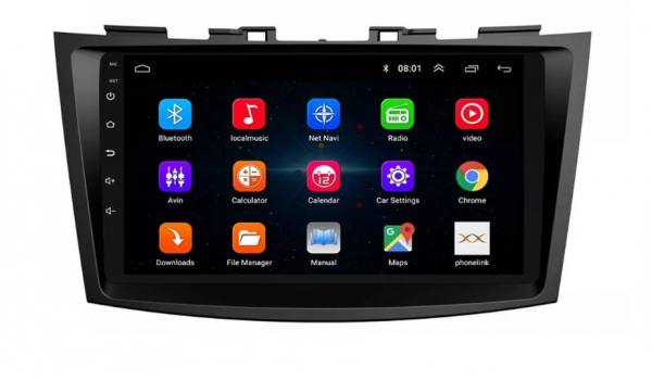 Navigatie Suzuki Swift ( 2010 - 2017 ) , Android , Display 9 inch , 2GB RAM +32 GB ROM , Internet , 4G , Aplicatii , Waze , Wi Fi , Usb , Bluetooth , Mirrorlink 2