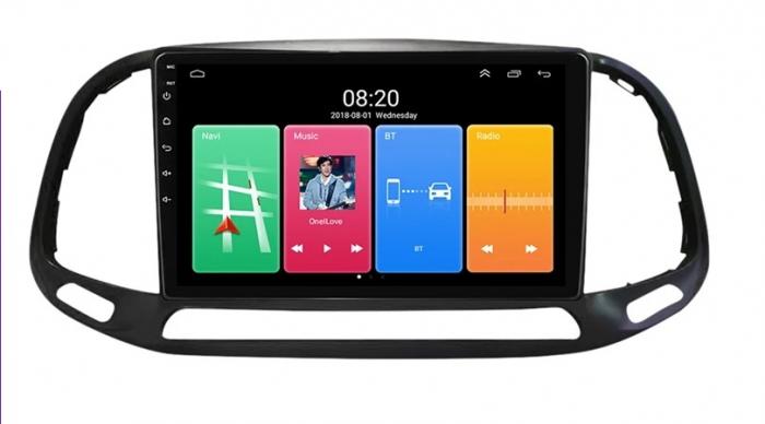 Navigatie Fiat Doblo ( 2015 - 2020 ) , Android , Display 9 inch , 2GB RAM +32 GB ROM , Internet , 4G , Aplicatii , Waze , Wi Fi , Usb , Bluetooth , Mirrorlink [0]