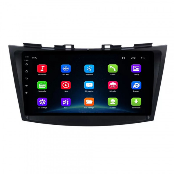 Navigatie Suzuki Swift ( 2010 - 2017 ) , Android , Display 9 inch , 2GB RAM +32 GB ROM , Internet , 4G , Aplicatii , Waze , Wi Fi , Usb , Bluetooth , Mirrorlink 4