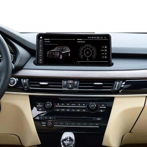 Navigatie BMW X5 F15 ( 2013 - 2017 ) , NBT , Android , 4 GB RAM + 64 GB ROM , Internet , 4G , Aplicatii , Waze , Wi Fi , Usb , Bluetooth , Mirrorlink 5