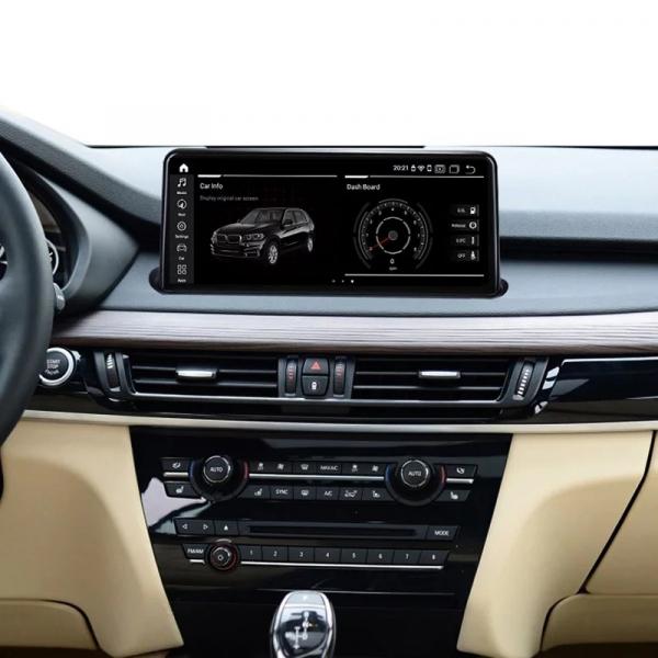 Navigatie BMW X6 F16 ( 2013 - 2017 ) , NBT , Android , 4 GB RAM + 64 GB ROM , Internet , 4G , Aplicatii , Waze , Wi Fi , Usb , Bluetooth , Mirrorlink 5