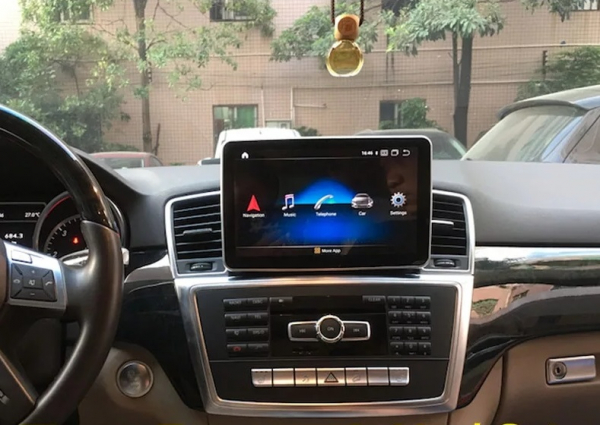 Navigatie Mercedes ML GL W166 ( 2013 - 2015) , Android , NTG 4.5 , 4GB RAM + 64 GB ROM , Slot Sim 4G LTE , Procesor Octa Core , Internet , Aplicatii , Waze , Wi Fi , Usb , Bluetooth , Mirrorlink 5