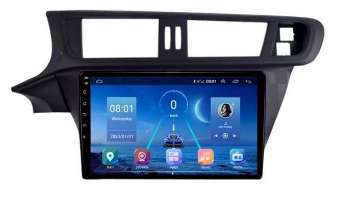 Navigatie Citroen C3-XR ( 2015 - 2019 ) , Android , Display 10 inch , 2GB RAM +32 GB ROM , Internet , 4G , Aplicatii , Waze , Wi Fi , Usb , Bluetooth , Mirrorlink 3
