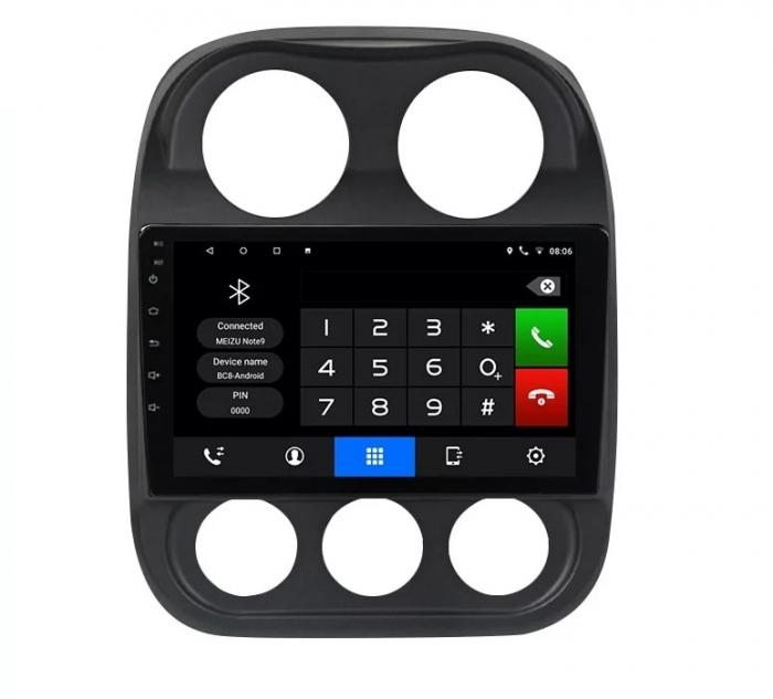 Navigatie Jeep Compass ( 2010 - 2016 ) , Android , Display 9 inch , 2GB RAM +32 GB ROM , Internet , 4G , Aplicatii , Waze , Wi Fi , Usb , Bluetooth , Mirrorlink 5
