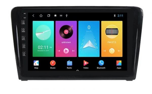 Navigatie Skoda Rapid ( 2013 - 2018 ) , Android , Display 9 inch , 2GB RAM +32 GB ROM , Internet , 4G , Aplicatii , Waze , Wi Fi , Usb , Bluetooth , Mirrorlink [0]