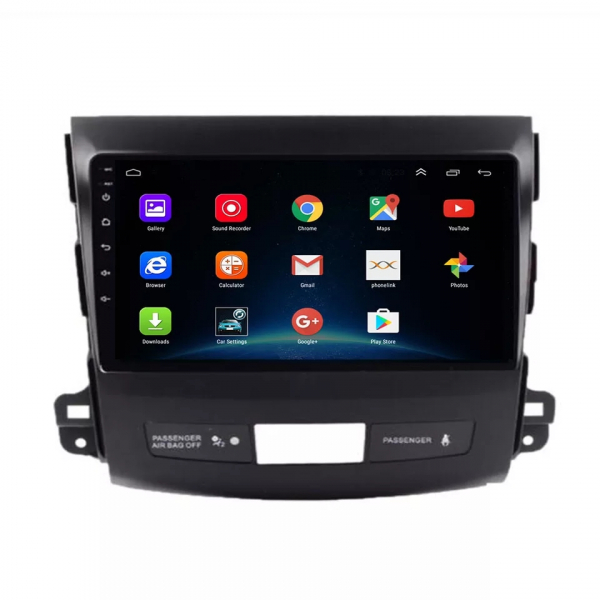 Navigatie Mitsubishi Outlander ( 2006 - 2014 ) , Android , Display 9 inch , 2GB RAM +32 GB ROM , Internet , 4G , Aplicatii , Waze , Wi Fi , Usb , Bluetooth , Mirrorlink 5