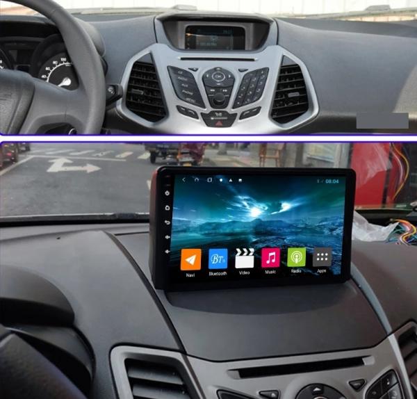Navigatie Ford Ecosport ( 2013 - 2017 ) , Android , Display 9 inch , 2GB RAM +32 GB ROM , Internet , 4G , Aplicatii , Waze , Wi Fi , Usb , Bluetooth , Mirrorlink 5