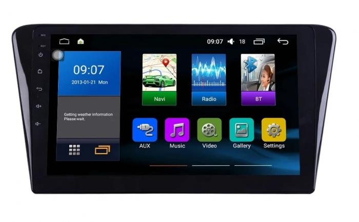 Navigatie Peugeot 408 ( 2014 - 2020 ) , Android , Display 10 inch , 2GB RAM +32 GB ROM , Internet , 4G , Aplicatii , Waze , Wi Fi , Usb , Bluetooth , Mirrorlink 3