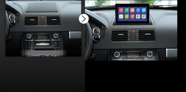 Navigatie Volvo XC90 ( 2003 - 2014 ) , Android , Display 9 inch , 2GB RAM +32 GB ROM , Internet , 4G , Aplicatii , Waze , Wi Fi , Usb , Bluetooth , Mirrorlink 6
