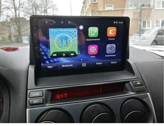Navigatie Mazda 6 ( 2002 - 2009 ) , Android , Display 9 inch , 2GB RAM si 32 GB ROM , Internet , 4G , Aplicatii , Waze , Wi Fi , Usb , Bluetooth , Mirrorlink [4]