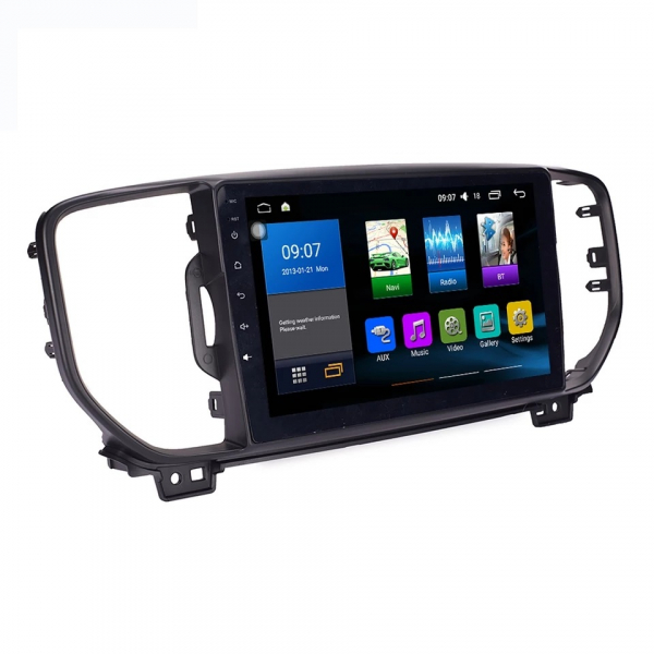 Navigatie Kia Sportage ( 2016 + ) , Android , Display 9 inch , 2GB RAM +32 GB ROM , Internet , 4G , Aplicatii , Waze , Wi Fi , Usb , Bluetooth , Mirrorlink 5