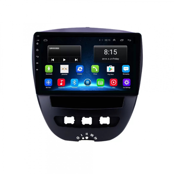 Navigatie Peugeot 107 ( 2005 - 2015 ) , Android , Display 10 inch , 2GB RAM +32 GB ROM , Internet , 4G , Aplicatii , Waze , Wi Fi , Usb , Bluetooth , Mirrorlink 0